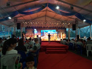 20m Width Outdoor Exhibition Tents , Inflatable Exhibition Tent For Beer Festival Celebration